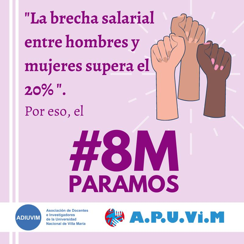 Comunicado de la Mesa Intersindical de Mujeres Trabajadoras de la UNVM