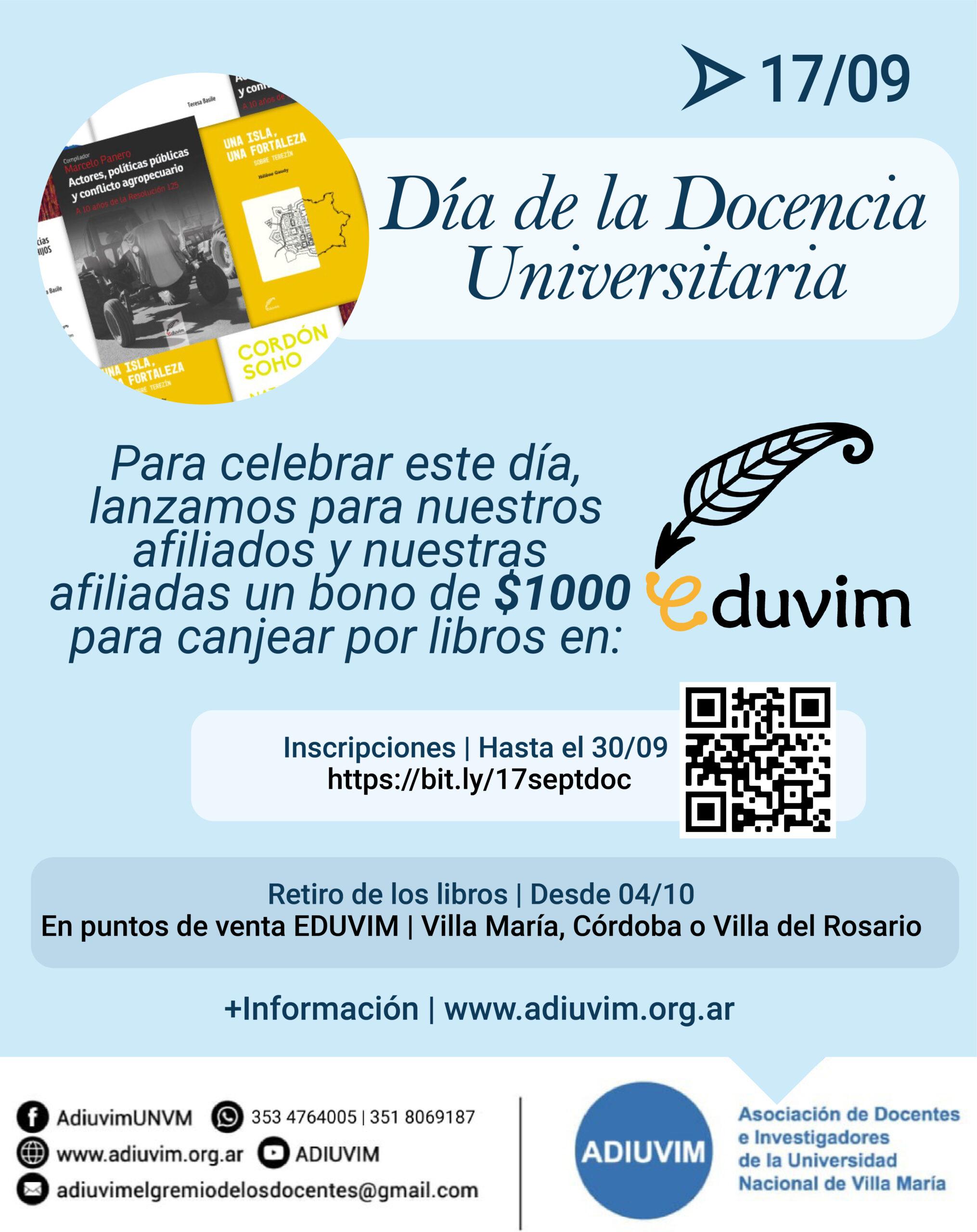 Celebramos el Día de la Docencia Universitaria