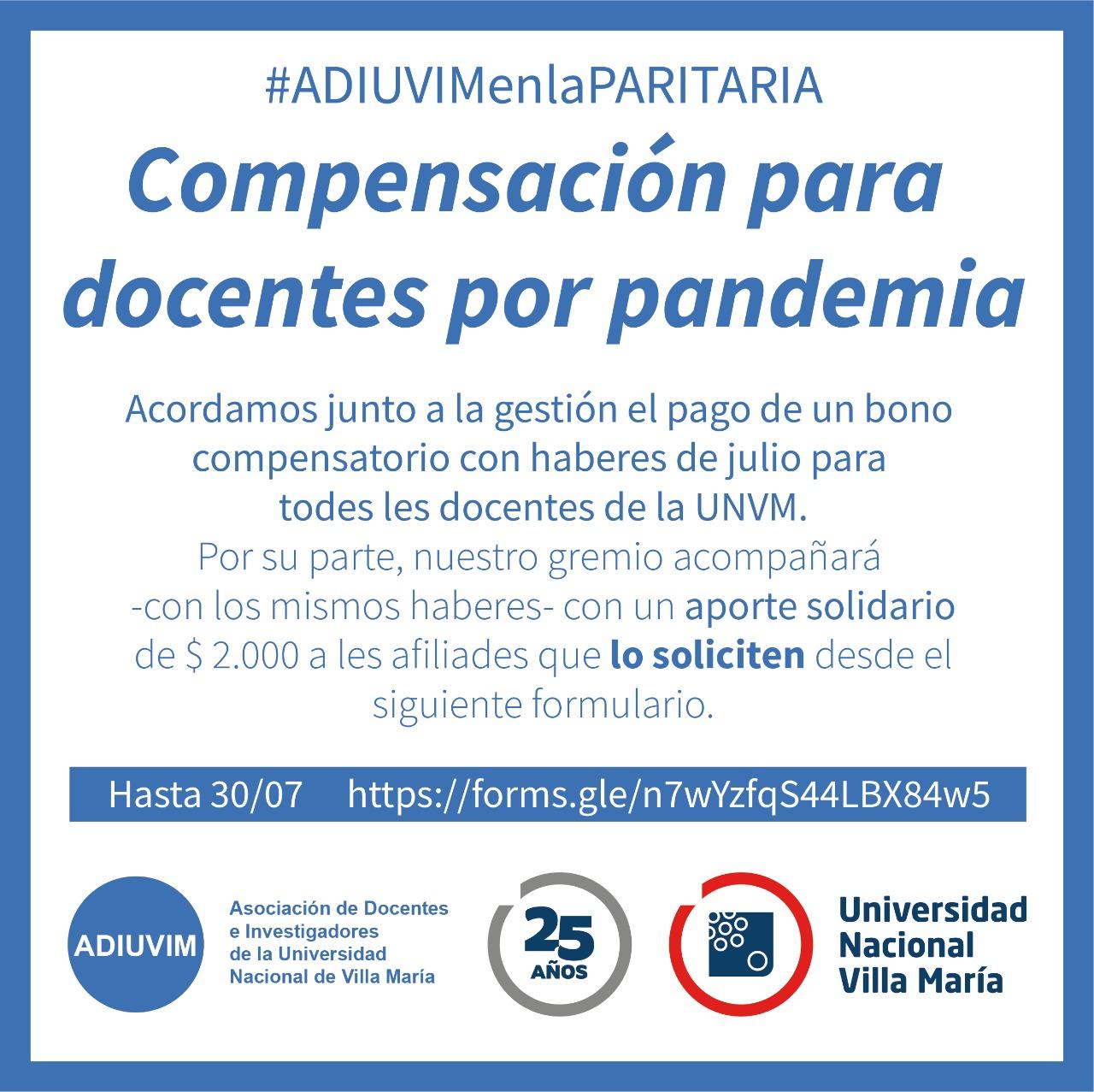 Compensación Solidaria: más de 180 afiliados y afiliadas recibieron el aporte solidario