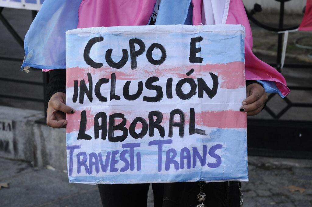 Celebramos la media sanción del Proyecto de Ley de Cupo e Inclusión Laboral Travesti-Trans