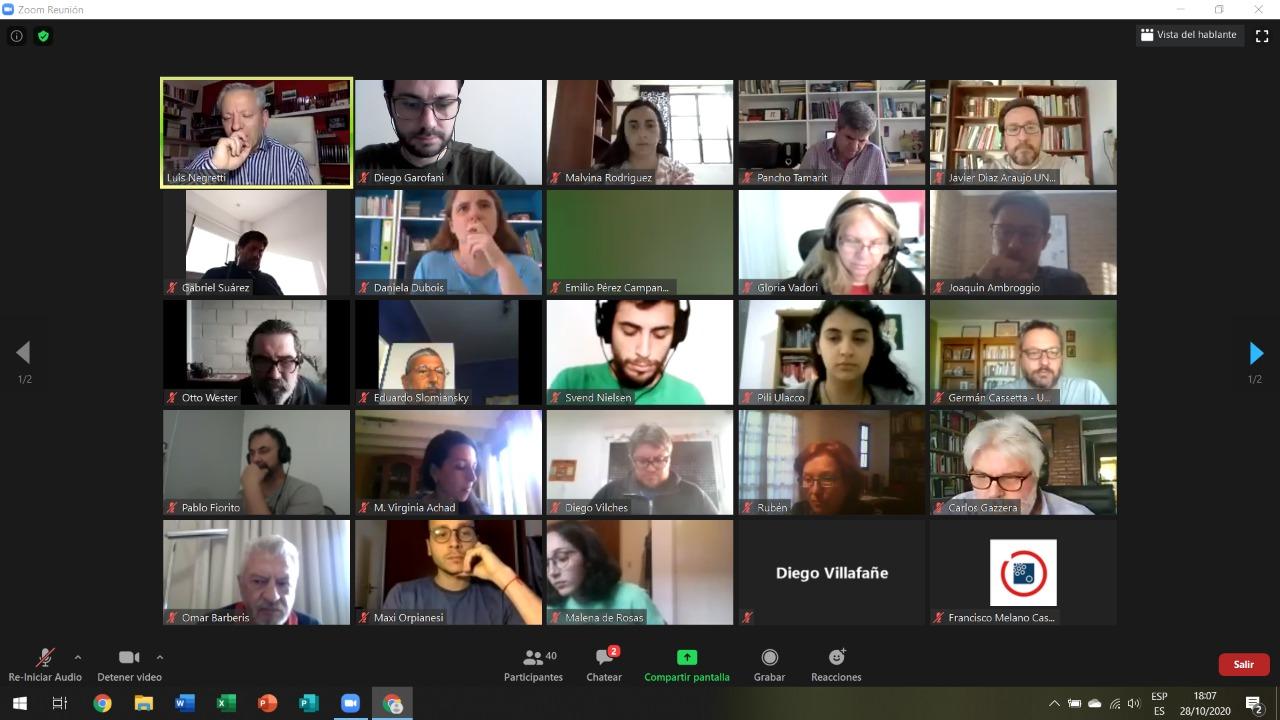 Encuentro virtual por una nueva LES: Con aportes de los diferentes claustros se elaborará el documento que la UNVM llevará al Cabildo de Córdoba