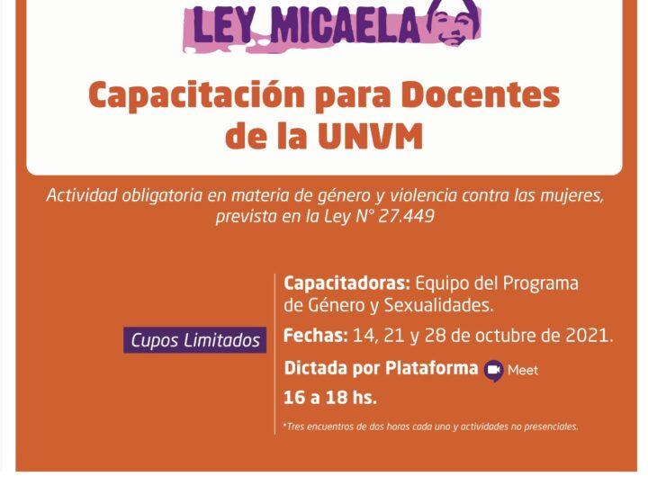 Ley Micaela: Comienza una nueva instancia de formación para docentes