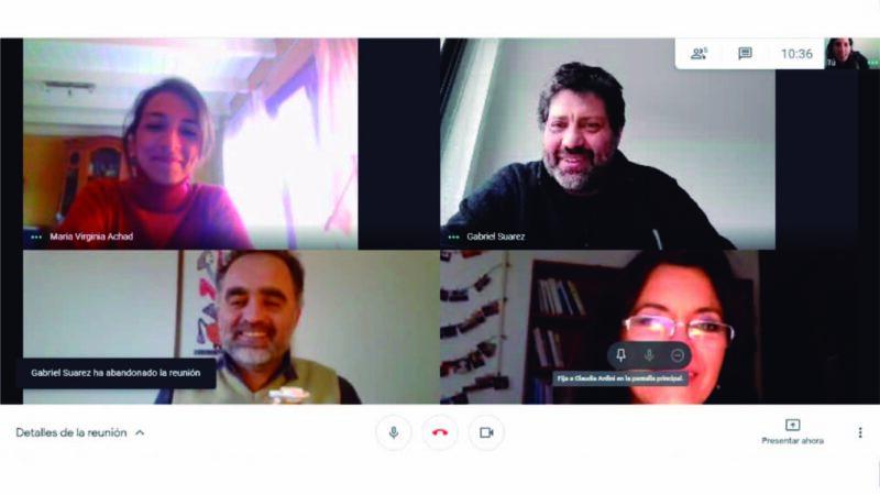 Mantuvimos reunión de trabajo con representantes del IAPCS