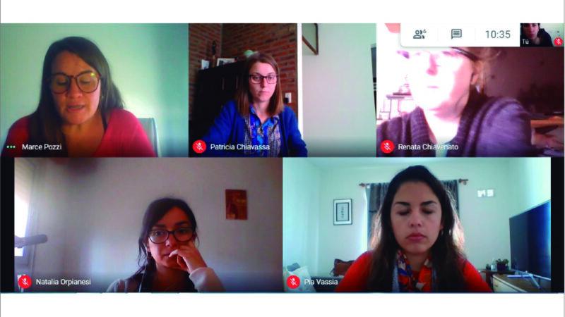 Ley Micaela: Participamos de reunión para organizar capacitación