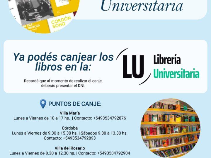 Día de la Docencia Universitaria: ya podés canjear tu libro en la Librería Universitaria