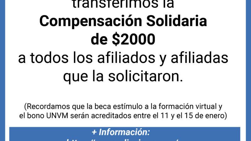 Acreditación Compensación Solidaria ADIUVIM