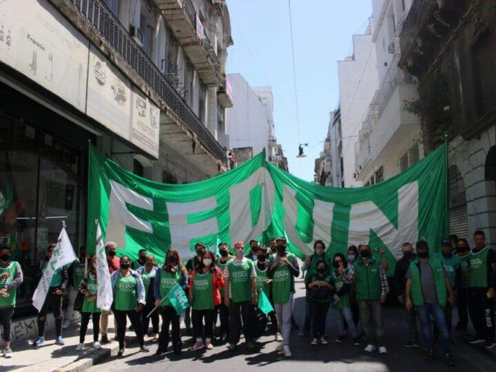 La FEDUN participó activamente de la marcha por el Día de la Lealtad Peronista