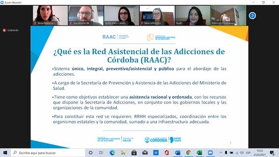 ADIUVIM participó de encuentro en la semana provincial de prevención del consumo de drogas