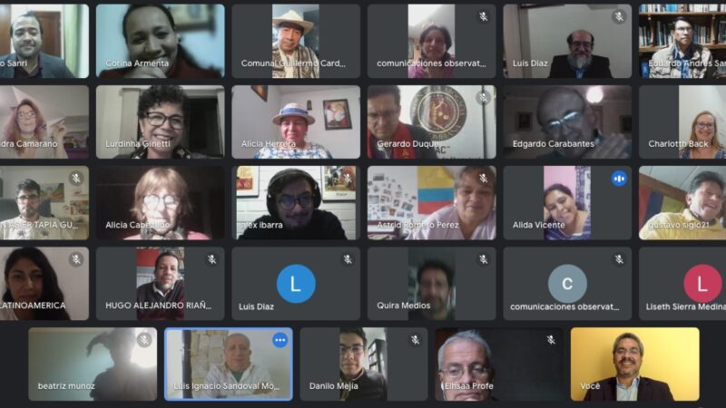 Solidaridad con el pueblo colombiano: ADIUVIM colaboró en el TRINO